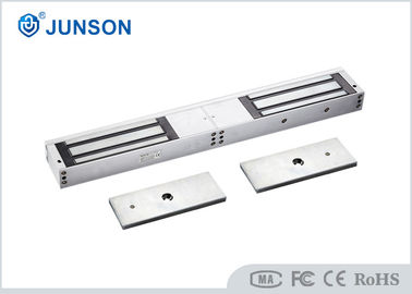 1200LBS*2 Sliding door magnetic lock For Double Swing Glass Door , CC SGS approved-JS-500DS
