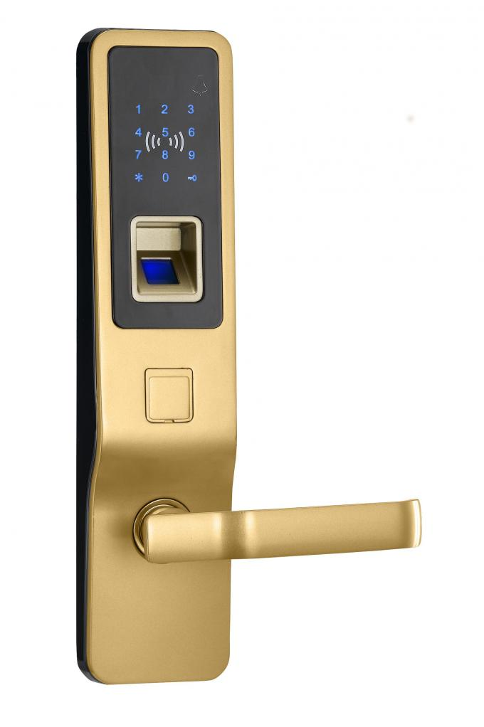 Standalone Fingerprint Access Control Door Lock For Residential Apartment